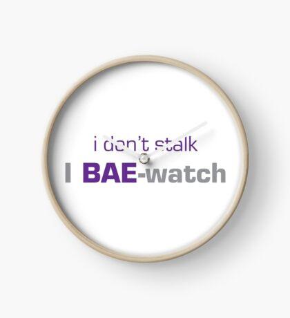 Bae-Watch Clock