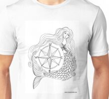 Thessalonike – Macedonian #Mermaid with Compass Unisex T-Shirt