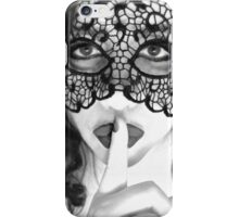 The dangers of silence iPhone Case/Skin