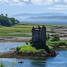 Castle Stalker, Loch Laich, Scotland by fotosic