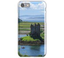 Castle Stalker, Loch Laich, Scotland iPhone Case/Skin