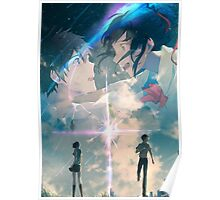 Mitsuha and Taki - Your name Poster