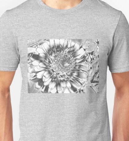 Chrome flower Unisex T-Shirt