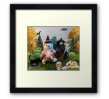He's SUCH A 'Strange' WITCH!!! Framed Print