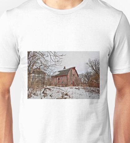 Winter On Jersey Avenue Unisex T-Shirt