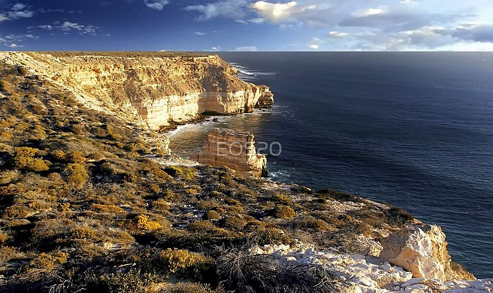 Kalbarri Coastal Cliffs At Sunset by EOS20