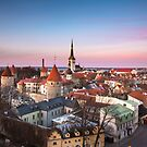 Estonia - Old Town, Tallinn by Aaron Radford