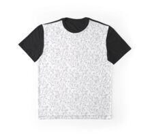 Bilbo Black on White Pattern Graphic T-Shirt