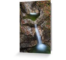Fratarica Canyon, Slovenia Greeting Card