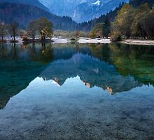 Jasna Lake, Slovenia by Curtis Budden