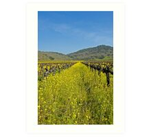 Mustard the Other wine Art Print