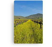 Mustard the Other wine Canvas Print