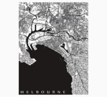 Melbourne Map Kids Clothes