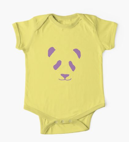 The Purple Panda One Piece - Short Sleeve