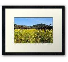 Mustard the Other Wine Framed Print