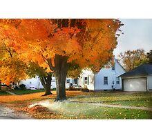 Autumn's Incense Photographic Print