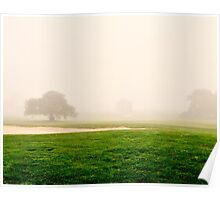 Chardonnay Golf Course Poster