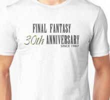 Final Fantasy 30th Anniversary  Unisex T-Shirt