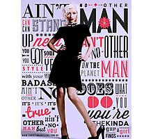 Ain't No Other Man - Xtina Photographic Print