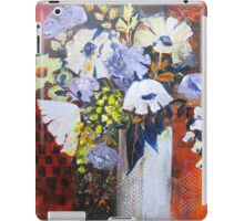 Still Life in White Vase iPad Case/Skin