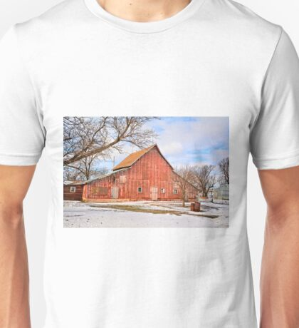 An Old Red Barn Unisex T-Shirt