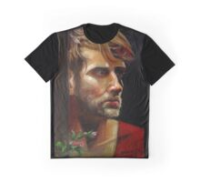 Colby with Roses Graphic T-Shirt