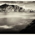 Lake Garda - View off Malcesine by Ronny Falkenstein