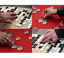 Hands of China - Games Photographic Print