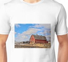 Marsh Avenue Barn Unisex T-Shirt