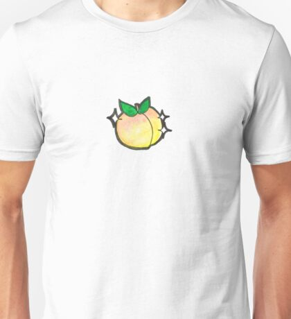 Cutie Fruits- Peach Unisex T-Shirt