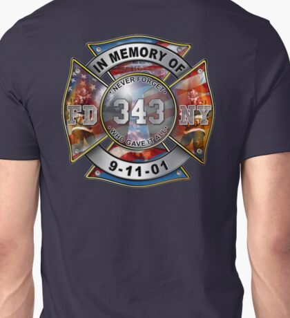 In Memory of 9/11/01 Unisex T-Shirt