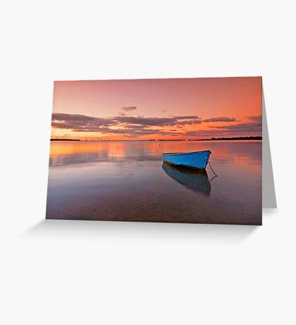 Tranquil Twilight - Victoria Point Qld Australia - Greeting Card
