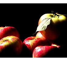 An Apple A Day...... Photographic Print