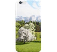 Green Spring Austrian Landscape iPhone Case/Skin