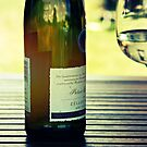 A glass of riesling by Caterpillar