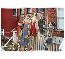 The Scarecrows Come to Town Poster