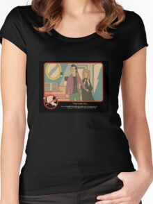 """Venkman - """"They hate this."""" Women's Fitted Scoop T-Shirt"""