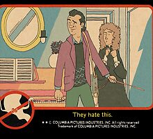 "Venkman - ""They hate this."" by Rory Lucey"