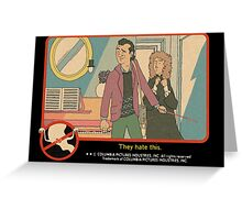 """Venkman - """"They hate this."""" Greeting Card"""