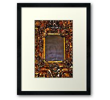 The miraculous image of Our Lady of Absam Framed Print