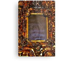 The miraculous image of Our Lady of Absam Metal Print