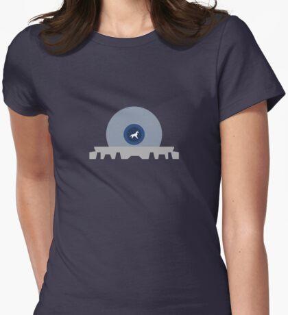 Blade Runner alternative movie poster Womens Fitted T-Shirt