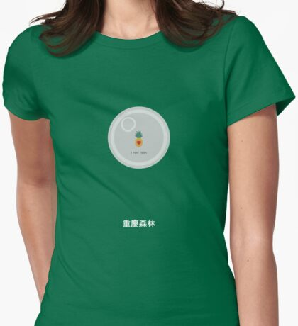 Chungking Express alternative movie poster Womens Fitted T-Shirt