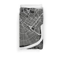 New Orleans (Black) Duvet Cover