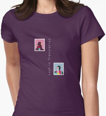 Lost in Translation alternative movie poster Womens Fitted T-Shirt