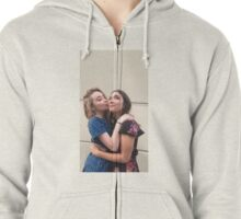 Rowan Blanchard & Sabrina Carpenter (Rilaya) Zipped Hoodie