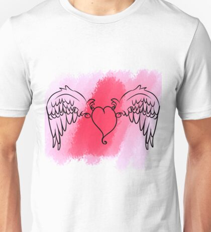 Cupid's Heart Unisex T-Shirt