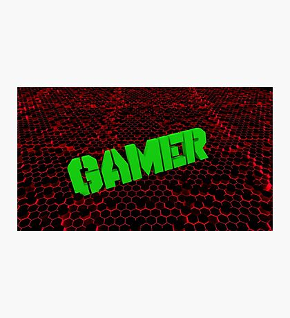 GAMER ABSTRACT Photographic Print