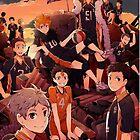 Team Karasuno - Haikyuu  by Aieders95