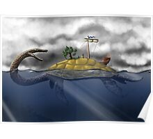 Aspic - Tortue Poster